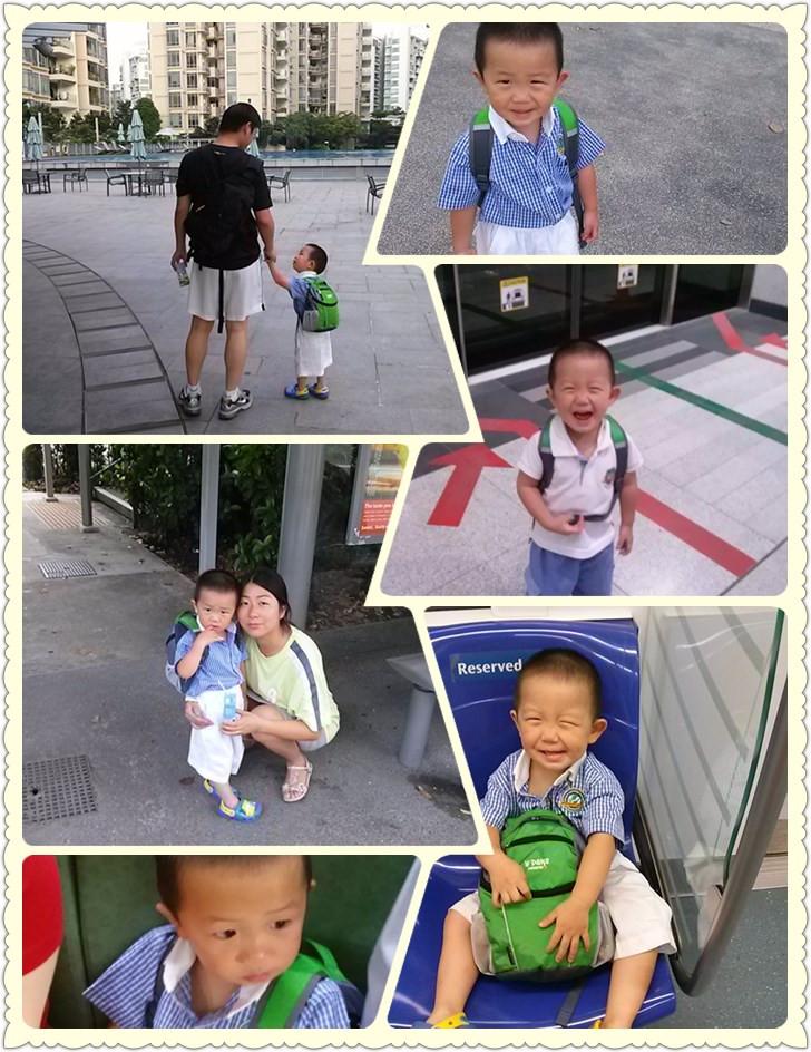 每天上幼儿园的时光